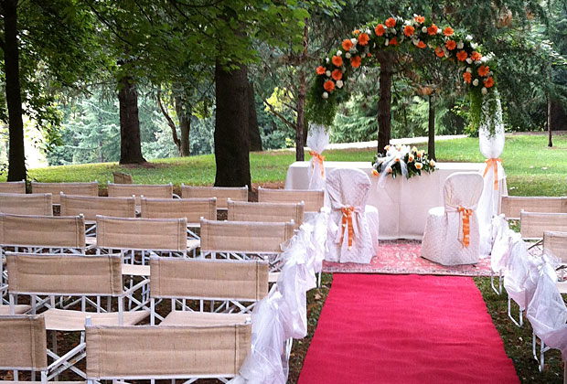 Matrimonio civile in villa veneta